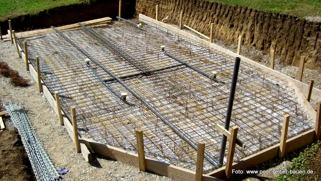 Fundament f r carport wie tief design carport aus stahl for Obi skimmer